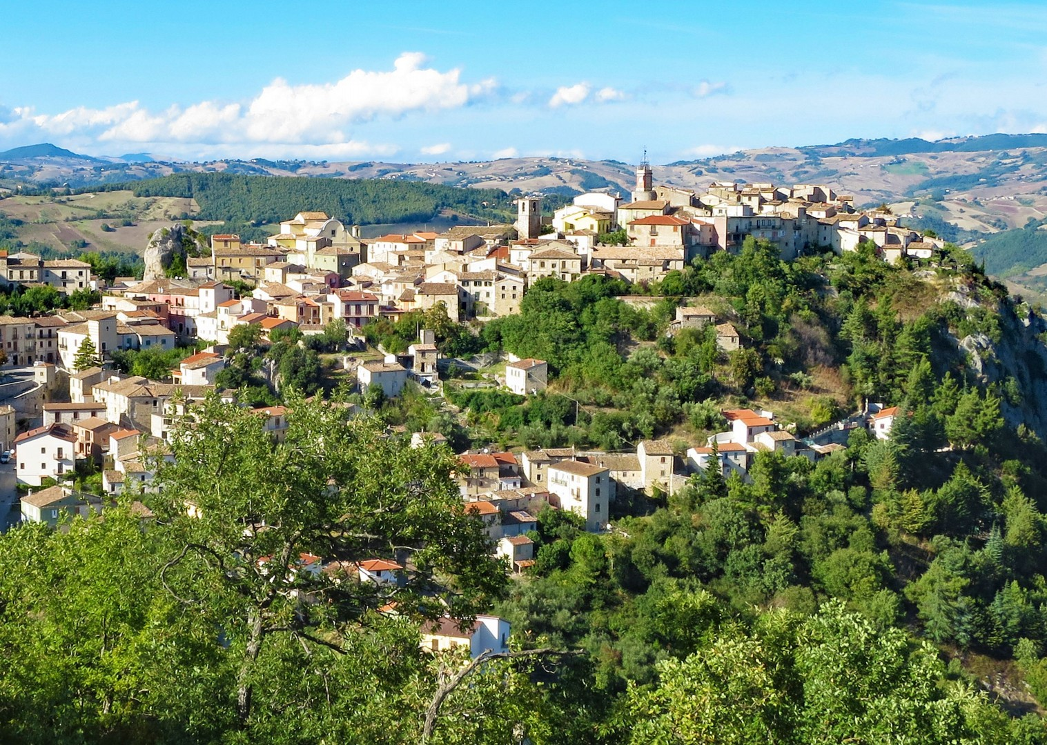 coffee-stop-village-south-to-north-cycling-holiday-italy.jpg - Italy - Grand Traverse - South to North (22 days) - Guided Road Cycling Holiday - Road Cycling