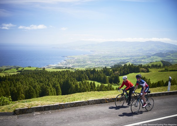 road-cycling-holiday-sete-citades-the-azores-with-saddle-skedaddle.JPG - NEW! The Azores - Lost World of Sao Miguel - Guided Road Cycling Holiday - Road Cycling