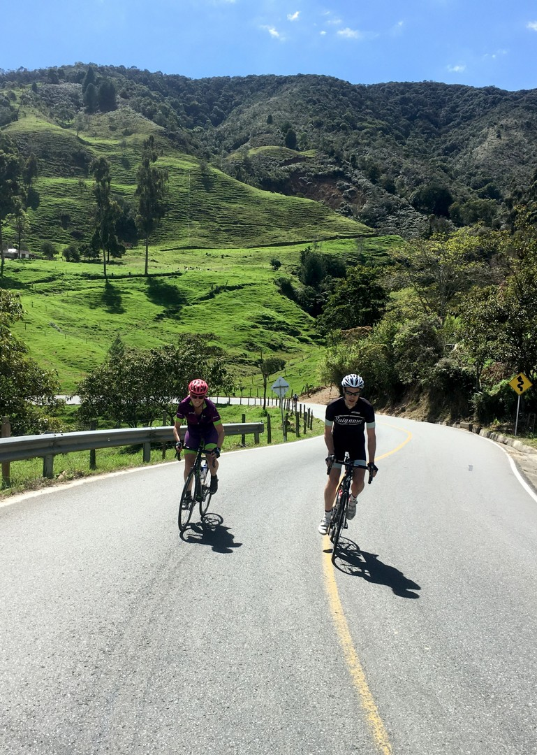 emerald-mountains-colombia-guided-road-cycling-holiday.JPG - Colombia - Tres Cordilleras - Guided Road Cycling Holiday - Road Cycling
