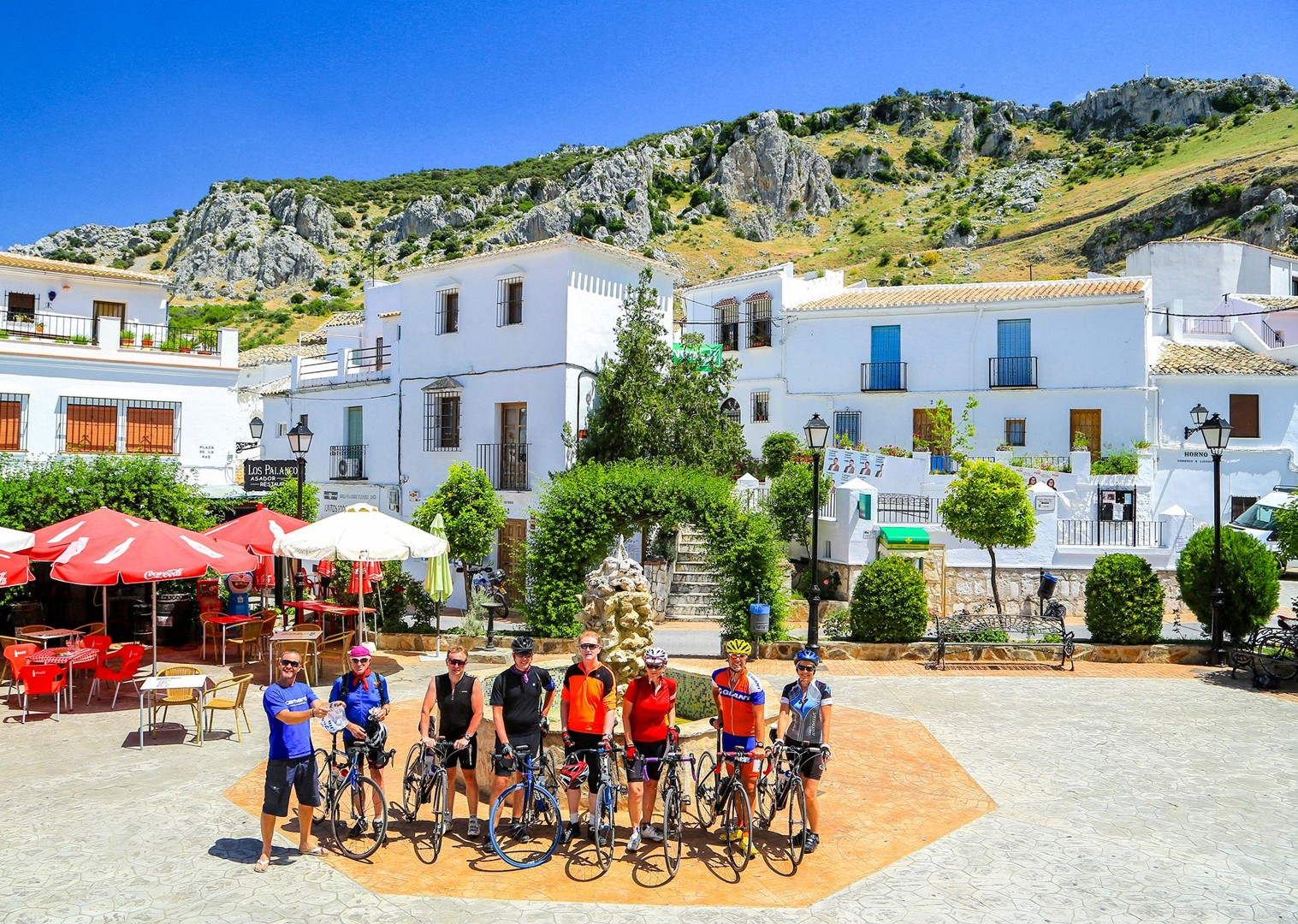 group-cycling-guided-road-holiday-in-spain-north-to-south.jpg - Spain - Basque Country to Andalucia - North to South (21 Days) - Guided Road Cycling Holiday - Road Cycling