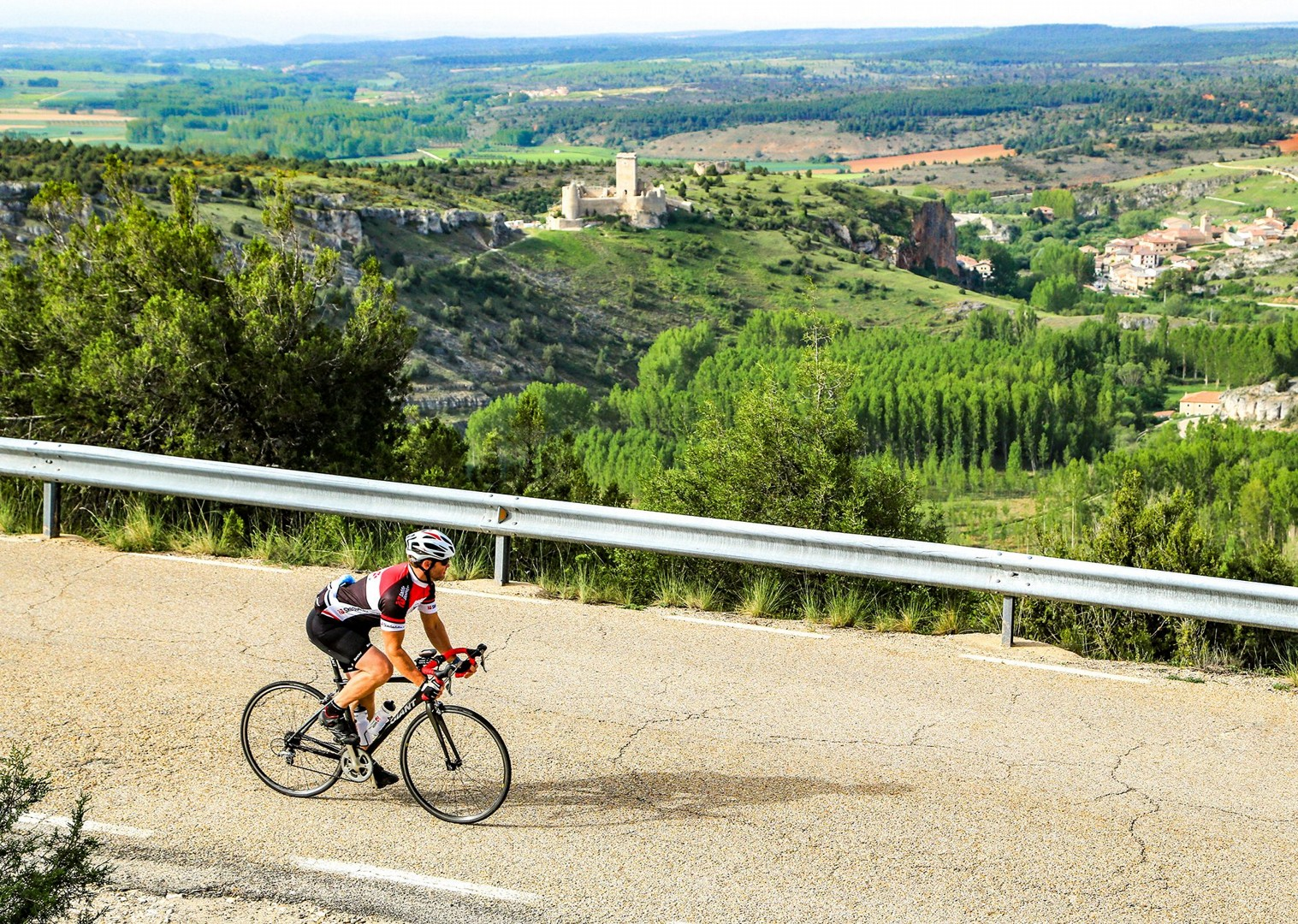 cyclist-in-spain-north-to-south-guided-road-cycling-holidays.jpg - Spain - Basque Country to Andalucia - North to South (21 Days) - Guided Road Cycling Holiday - Road Cycling
