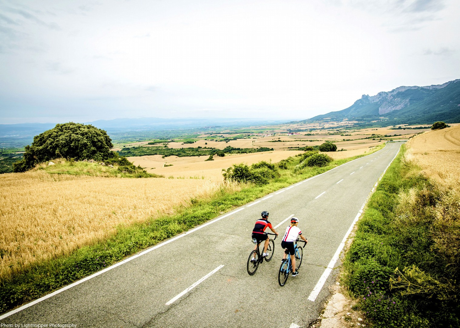 spain-road-cycling-la-rioja-smooth-roads.jpg - Northern Spain - La Rioja - Ruta del Vino - Self-Guided Road Cycling Holiday - Road Cycling
