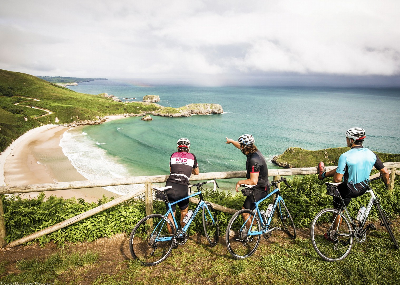 bay-spain-voast-views-spectacular-road-cycling.jpg - Northern Spain - Road to Santiago - Guided Road Cycling Holiday - Road Cycling