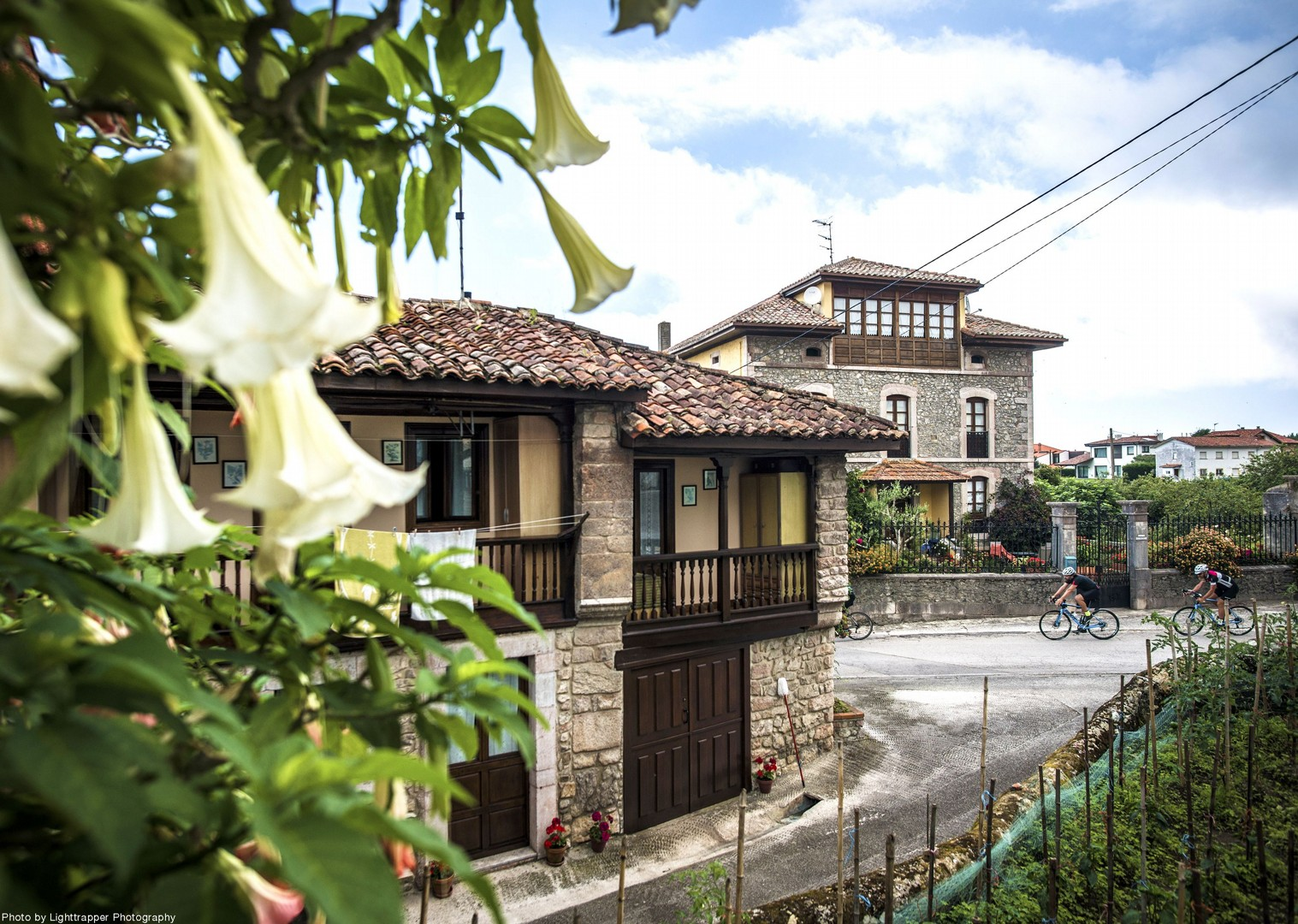 northern-spain-cycling-town-traditional-san-vincete.jpg - Northern Spain - Road to Santiago - Guided Road Cycling Holiday - Road Cycling