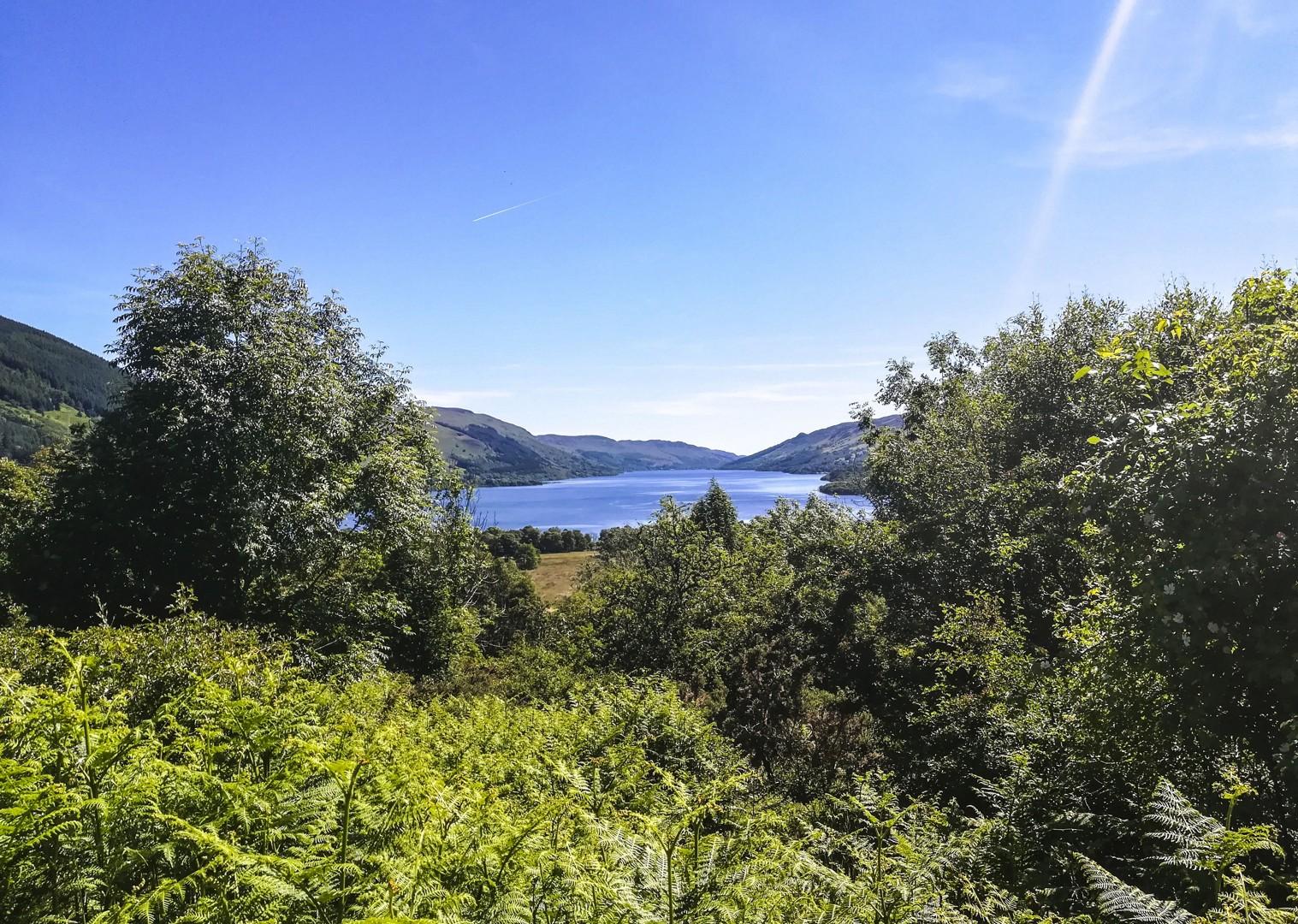 trossachs-scotland-uk-mountains-glens-lochs-fun-cycling-holiday.jpg - NEW! UK - Scotland - Lochs and Glens - Guided Leisure Cycling Holiday - Leisure Cycling