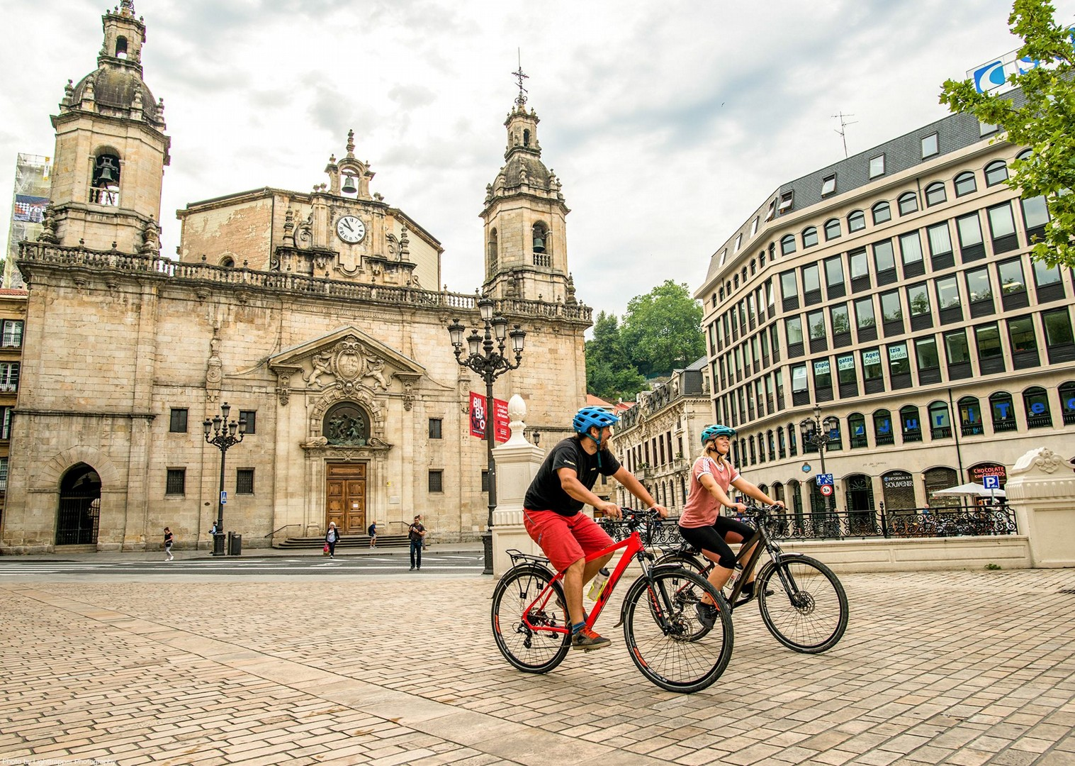 bilbao-town-self-guided-cycling-tour-saddle-skedaddle-holiday.jpg - NEW! Spain - Bilbao to San Sebastian - Leisure Cycling