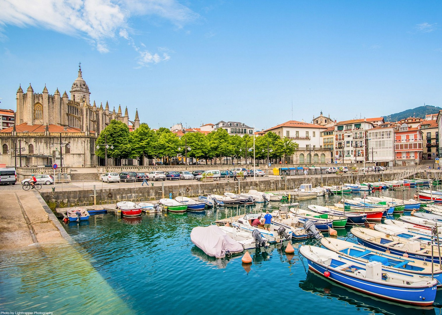 harbour-spain-leisure-cycling-trip-self-guided-holiday.jpg - NEW! Spain - Bilbao to San Sebastian - Leisure Cycling