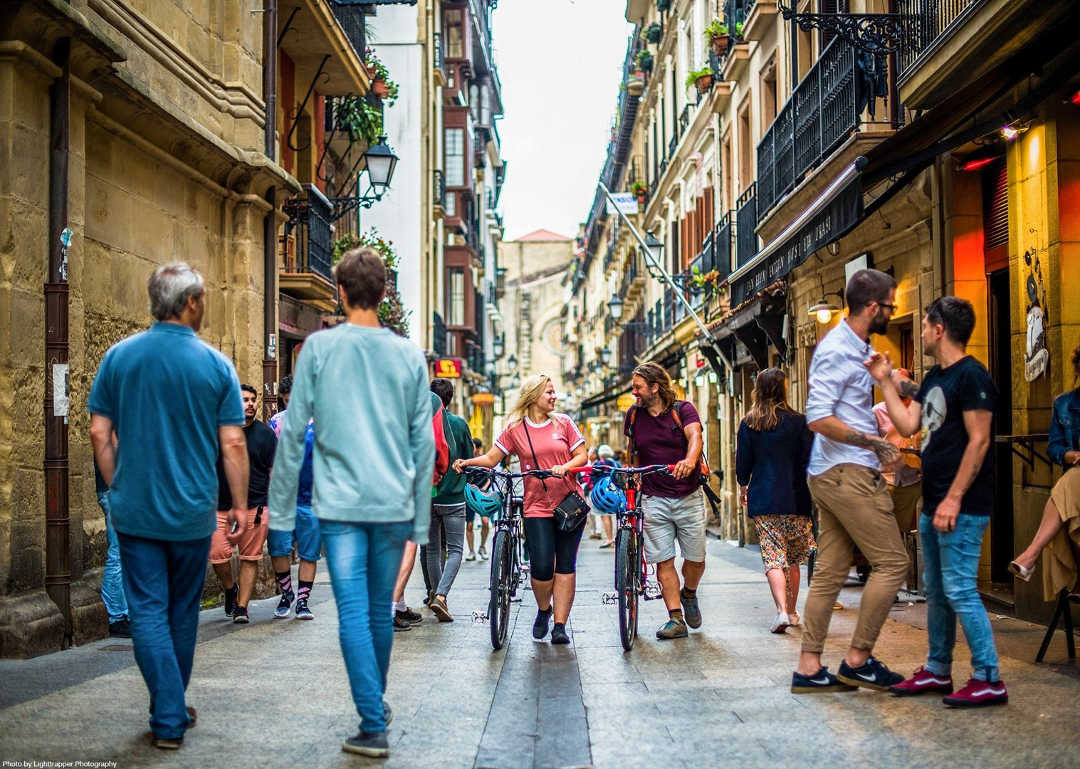 cycling-streets-of-spain-culture-self-guided-holiday.jpg - NEW! Spain - Bilbao to San Sebastian - Leisure Cycling