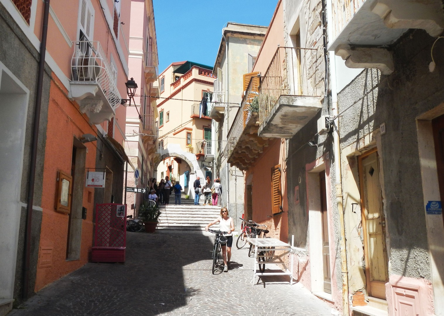calaforte-san-pietro-town-sardinia.jpg - Italy - Sardinia - Island Flavours - Self-Guided Leisure Cycling Holiday - Leisure Cycling