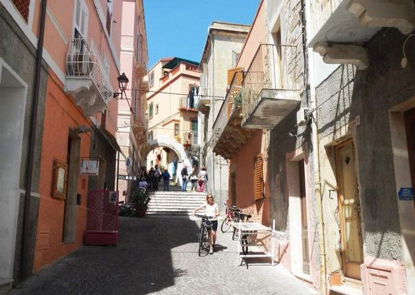 calaforte-san-pietro-town-sardinia.jpg - Italy - Sardinia - Island Flavours - Self-Guided Leisure Cycling Holiday - Leisure Cycling