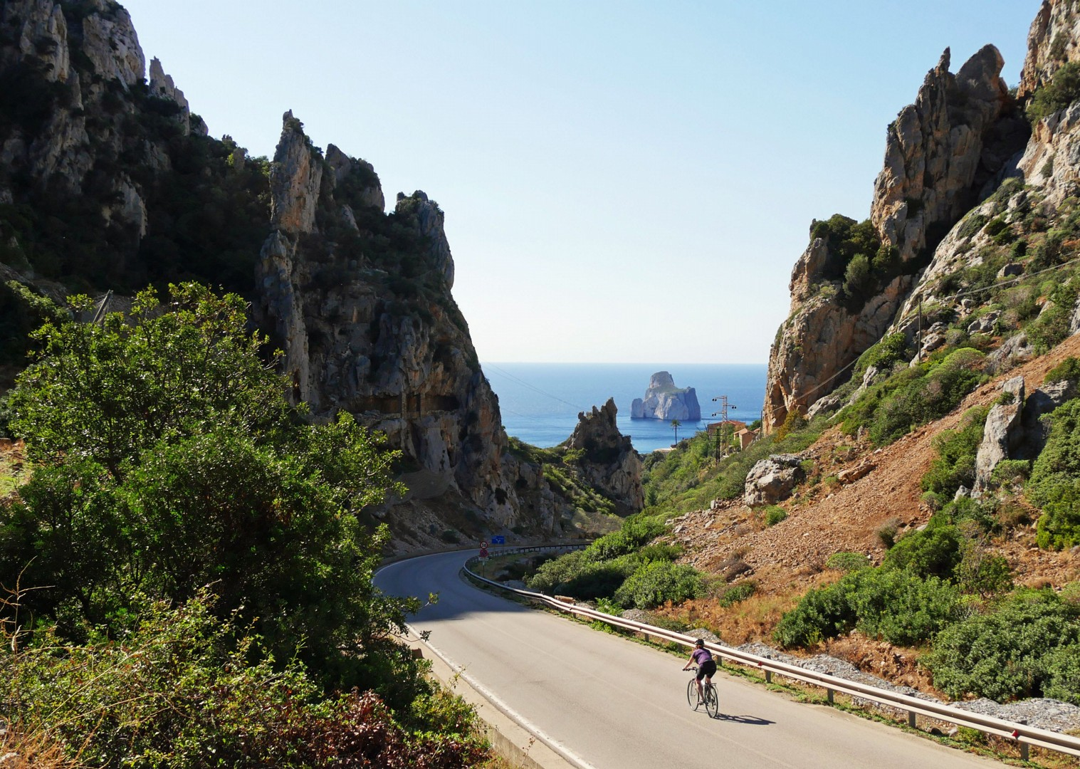 pan-di-zucchero-sea-cliffs-sardinia.jpg - Italy - Sardinia - Island Flavours - Self-Guided Leisure Cycling Holiday - Leisure Cycling