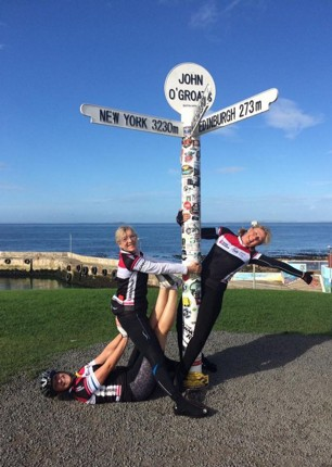 john-ogroats-lejog-group-cycling-iconic-journey.jpg - UK - Land's End to John O'Groats Explorer (22 days) - Guided Cycling Holiday - Leisure Cycling