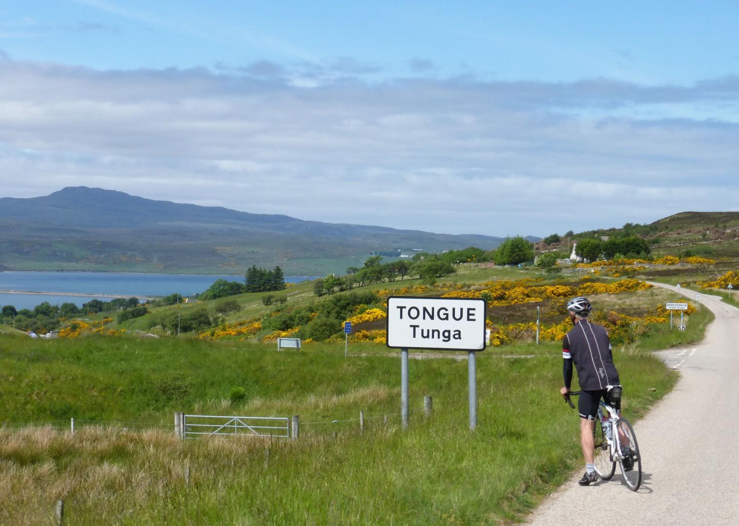 tounge-lands-end-john-ogroats-cycling.jpg - UK - Land's End to John O'Groats Explorer (22 days) - Guided Cycling Holiday - Leisure Cycling