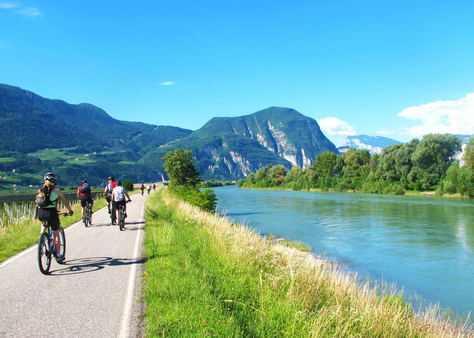views-of-zugspitze-guided-cycling-holiday.jpg - Austria and Italy - La Via Claudia - Guided Leisure Cycling Holiday - Leisure Cycling