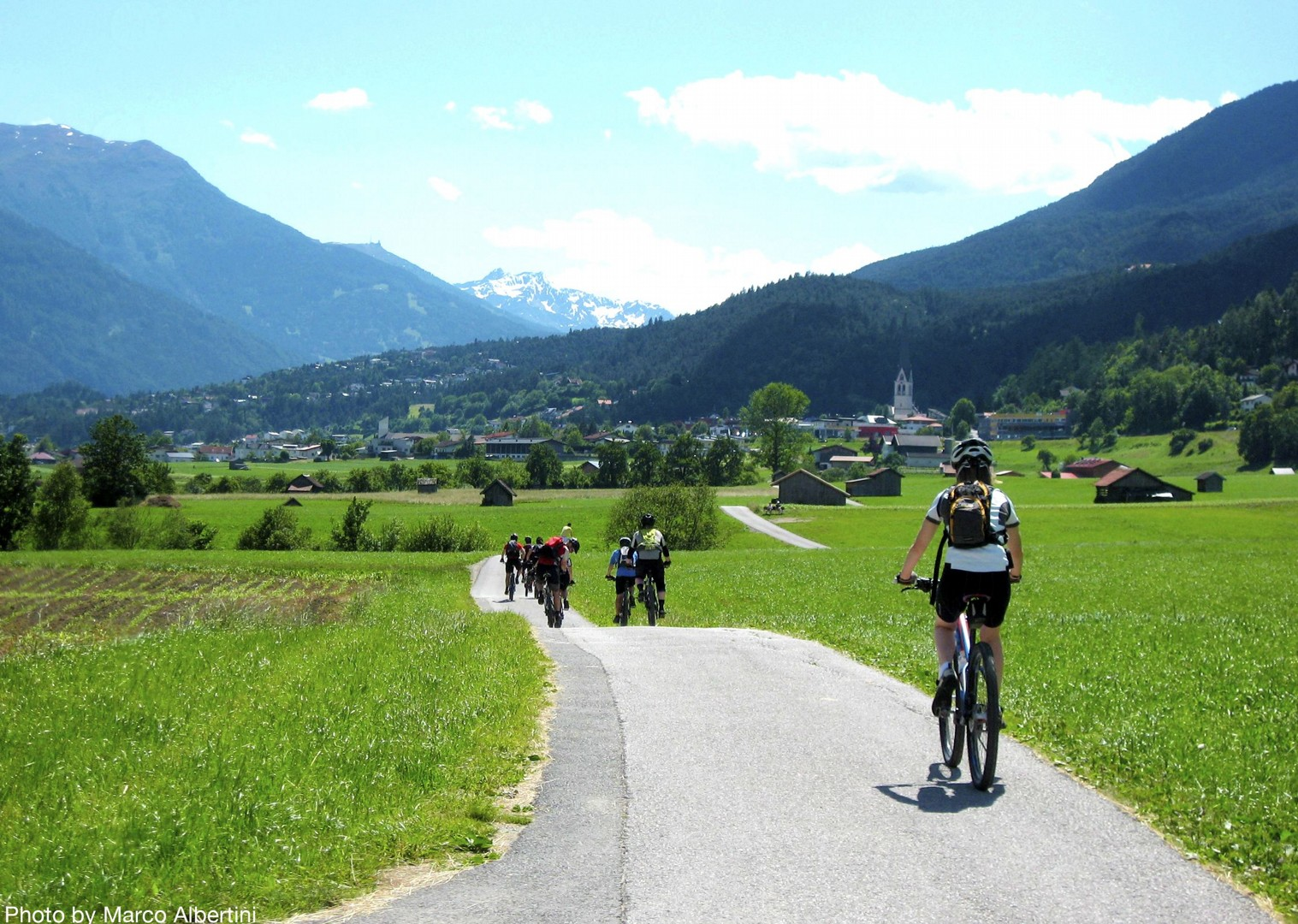 idylic-scenery-self-guided-cycling-adventure.jpg - Austria and Italy - La Via Claudia - Guided Leisure Cycling Holiday - Leisure Cycling