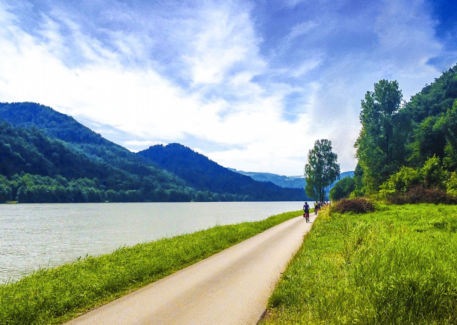 danube-river-cycling-holiday-self-guided-leisure-fun-easy.jpg - Germany and Austria - The Danube Cyclepath (8 Days) - Self-Guided Leisure Cycling Holiday - Leisure Cycling