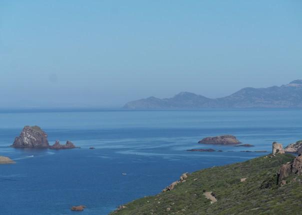 COASTAL ROAD FROM TRESNURAGHE TO FOGHE TOWER 1.JPG - Sardinia - Gentle Island Cycling - Self-Guided Leisure Cycling Holiday - Leisure Cycling