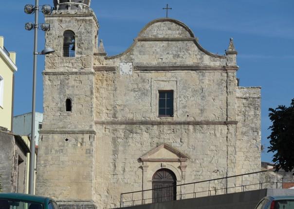 SAGAMA MAIN CHURCH (XVII CENT.).JPG - Sardinia - Gentle Island Cycling - Self-Guided Leisure Cycling Holiday - Leisure Cycling