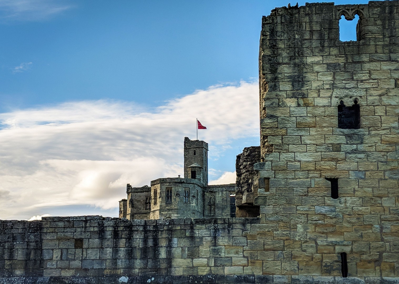 3 Warkworth Castle.jpg - UK - Coast and Castles - 4 Days Cycling - Self-Guided Leisure Cycling Holiday - Leisure Cycling