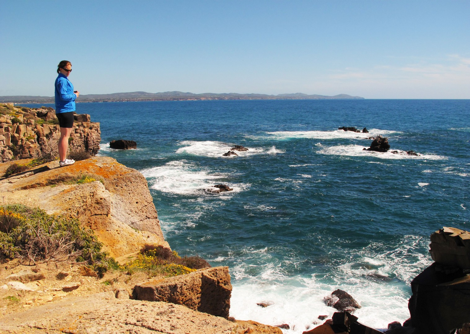 coast-sea-views-island-flavours-sardinia.jpg - Sardinia - Island Flavours - Guided Leisure Cycling Holiday - Leisure Cycling