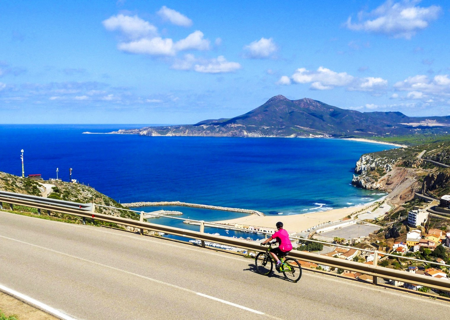 cycling-in-italy-leisure-scenery-sardinian-sea.jpg - Italy - Sardinia - Island Flavours - Guided Leisure Cycling Holiday - Leisure Cycling