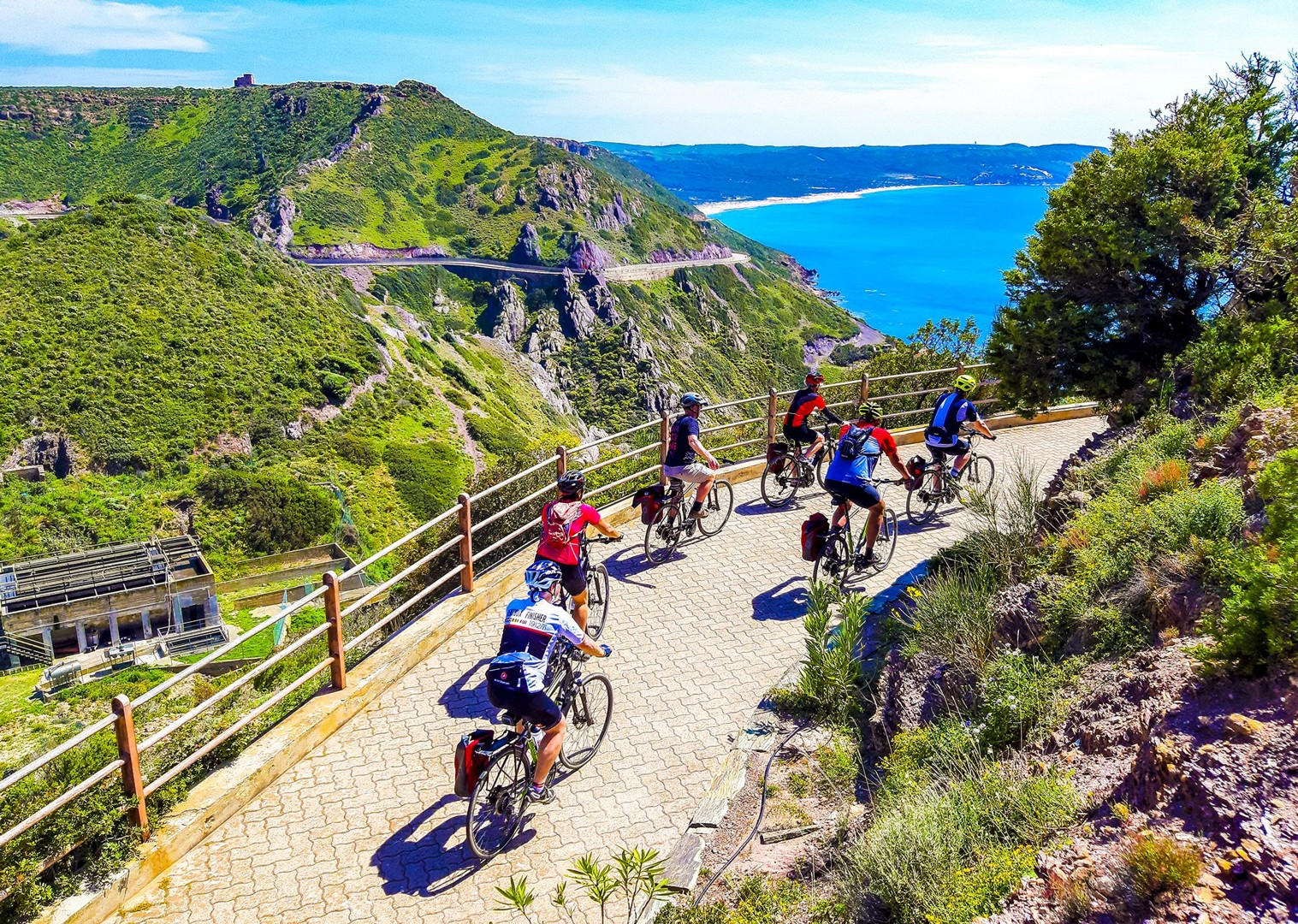 leisure-cycling-holiday-island-flavours-sardinia.jpg - Italy - Sardinia - Island Flavours - Guided Leisure Cycling Holiday - Leisure Cycling
