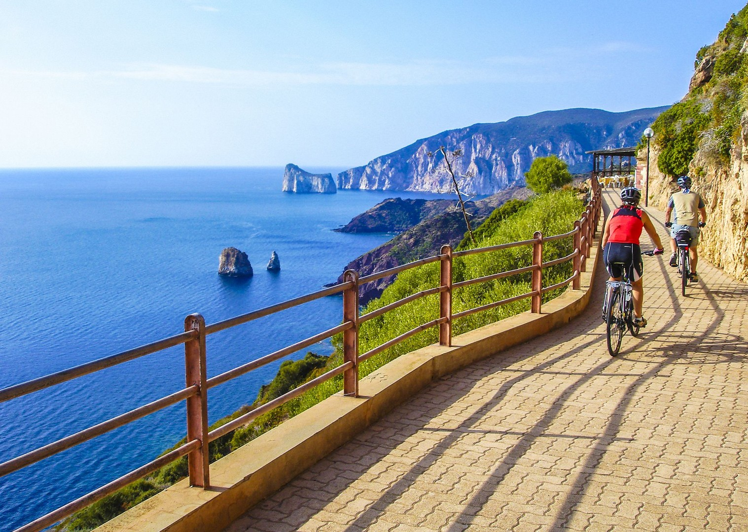 guided-leisure-cycling-along-sardinia-beach-island-flavours-holiday.jpg - Italy - Sardinia - Island Flavours - Guided Leisure Cycling Holiday - Leisure Cycling