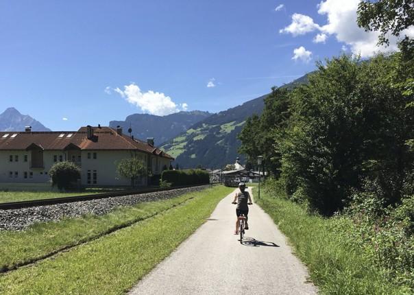 lesiure-cycling-holiday-austria-tyrol-valley-landscape.jpg - Austria - Tyrolean Valleys - Self-Guided Leisure Cycling Holiday - Leisure Cycling