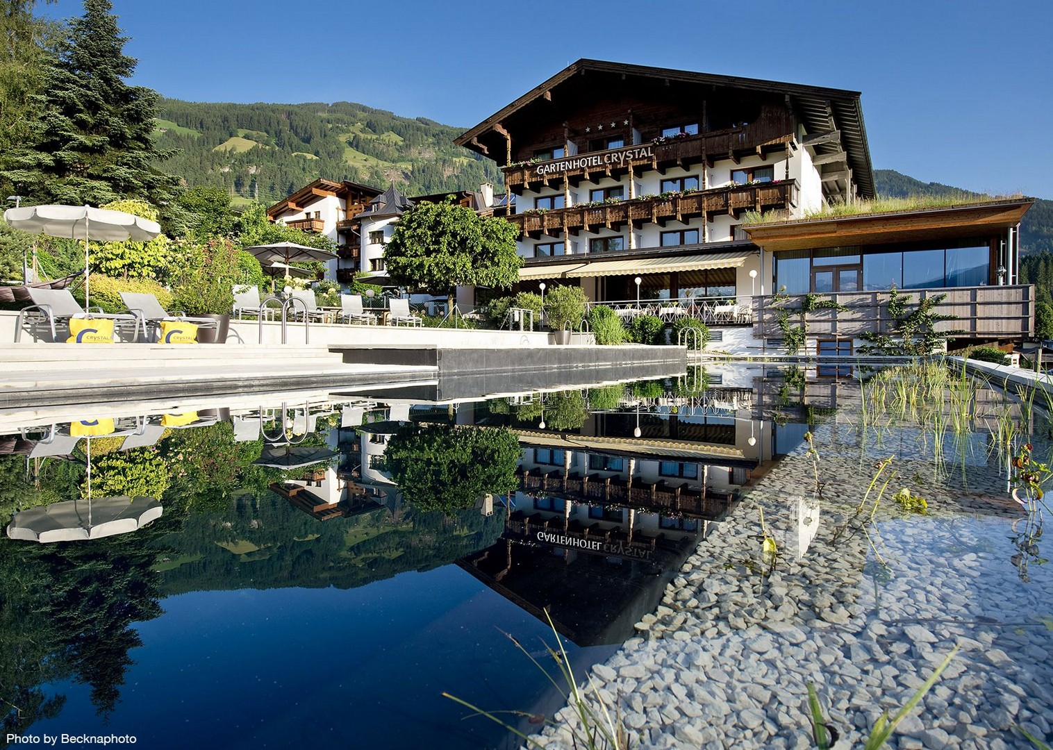eb-crystal-fuegen-aussenansicht-15 copy.jpg - Austria - Tyrolean Valleys - Self-Guided Leisure Cycling Holiday - Leisure Cycling