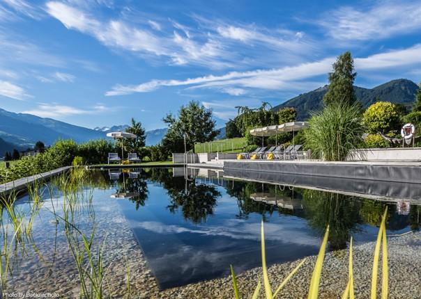 eb-crystal-fuegen-gartenpool-(c)becknaphoto-15 copy.jpg - Austria - Tyrolean Valleys - Self-Guided Leisure Cycling Holiday - Leisure Cycling