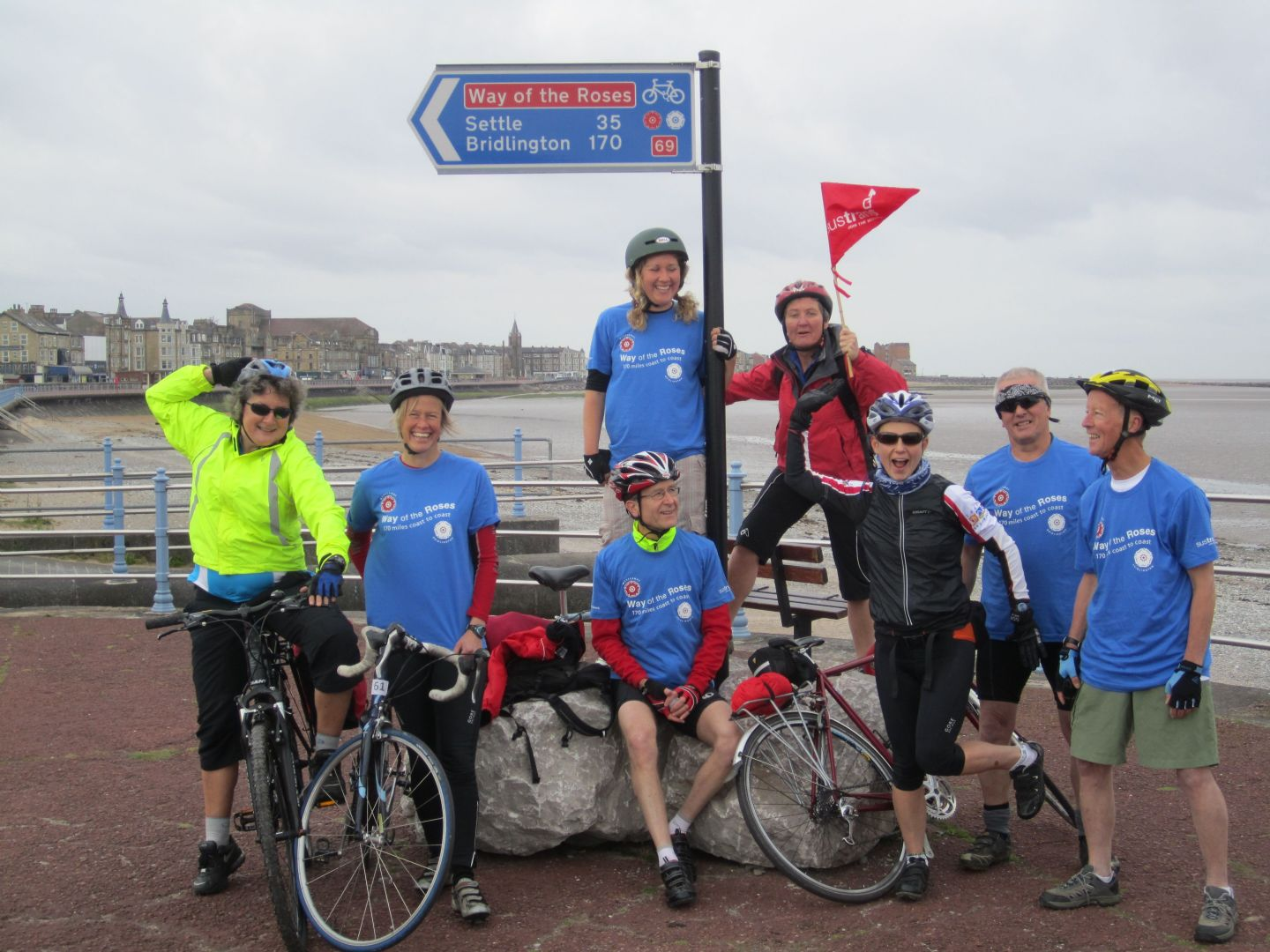 Way of the Roses Cycling 4.jpg - UK - Way of the Roses - Supported Leisure Cycling Holiday - Leisure Cycling