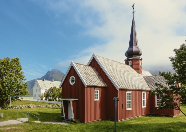 leisure-cycling-holiday-lofoten-house.jpg - Norway - Lofoten Islands - Self-Guided Leisure Cycling Holiday - Leisure Cycling