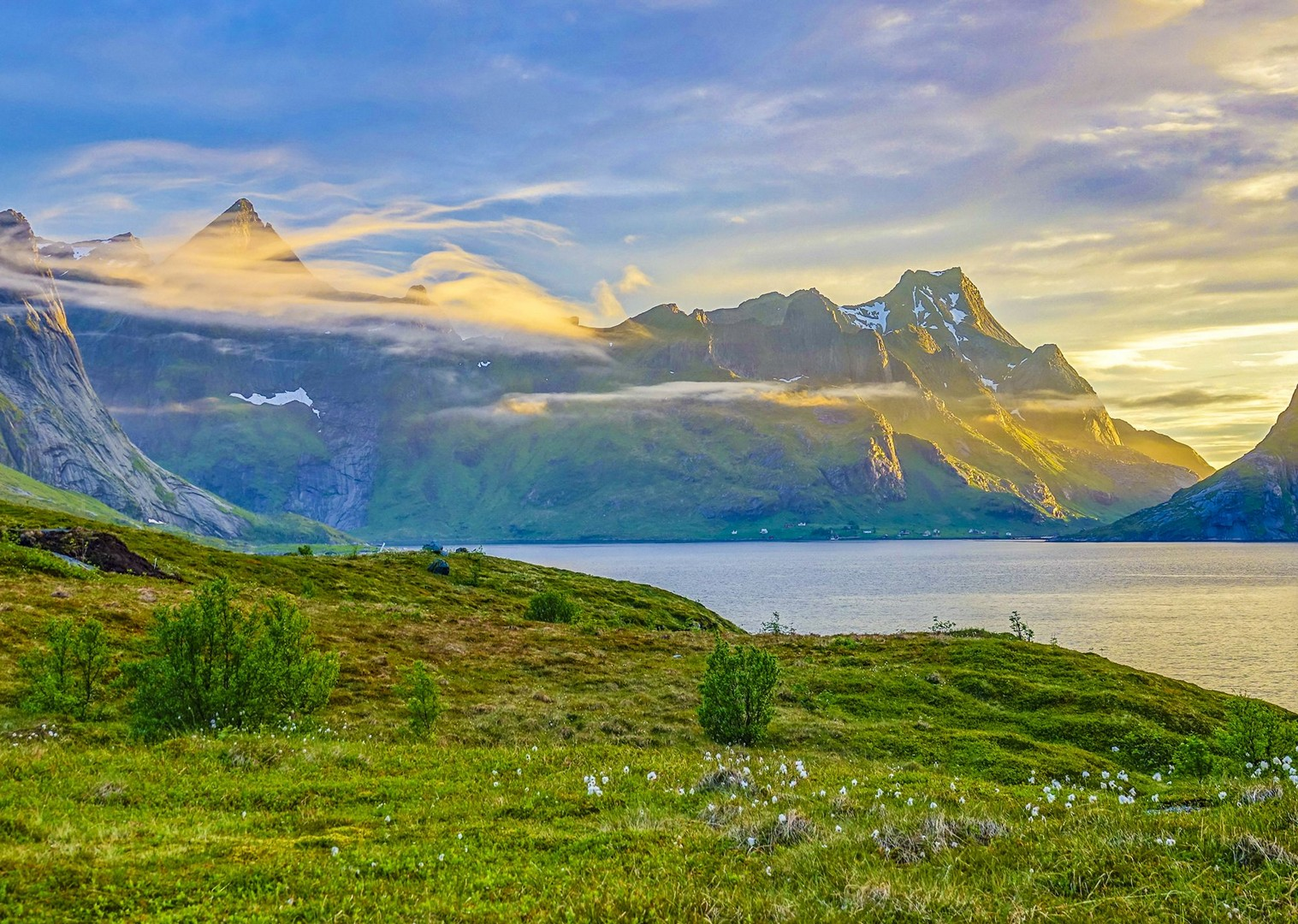 hills-sea-sunsets-by-bike-cycling-norway-tour-magical-views.jpg - Norway - Lofoten Islands - Self-Guided Leisure Cycling Holiday - Leisure Cycling