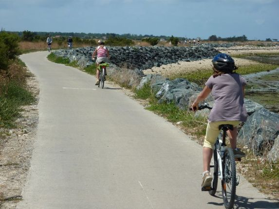 Ile de Ré cyclists.jpg - France - Ile de Ré and the Atlantic Coast - Self-Guided Leisure Cycling Holiday - Leisure Cycling