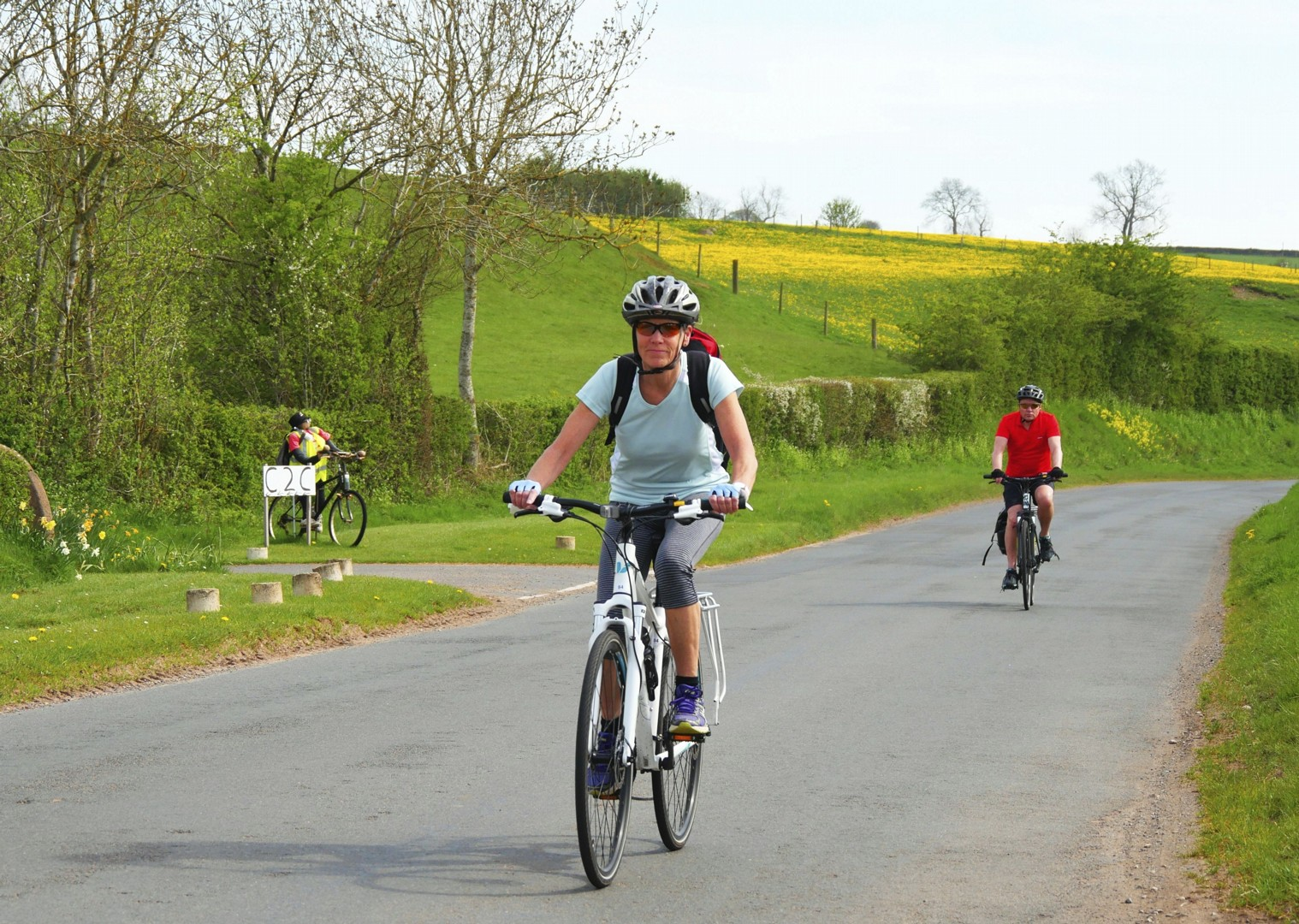 C2C- cycling-cumbria-countryside.jpg - UK - C2C - Coast to Coast - Supported Leisure Cycling Holiday - Leisure Cycling