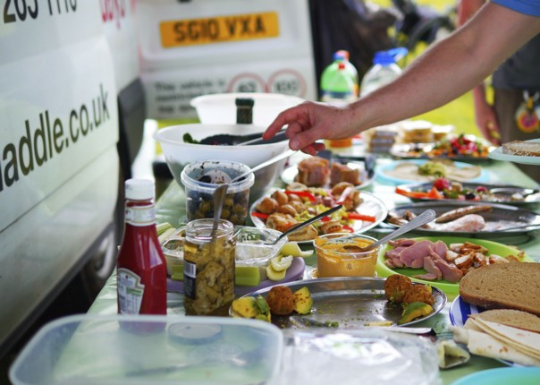 c2c-picnic-food.jpg - UK - C2C - Coast to Coast - Supported Leisure Cycling Holiday - Leisure Cycling