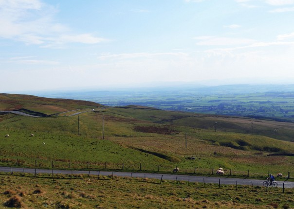 c2c-cumbria-cycling-landscape-climb.jpg - UK - C2C - Coast to Coast - Supported Leisure Cycling Holiday - Leisure Cycling