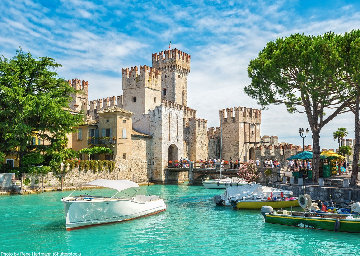 scaligero-castle-sirmione-italy-cycling-tour-self-guided-visit.jpg - Italy - Lake Garda to Venice - Self-Guided Leisure Cycling Holiday - Leisure Cycling