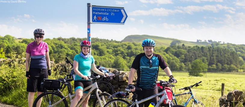 Explore the Hadrian's Cycleway on our range of cycling holidays and check out the Roman sites along the way. You will travels along the northern boundary of Britannia and the Roman Empire and rediscover the Emperor Hadrian's Wall on two wheels.