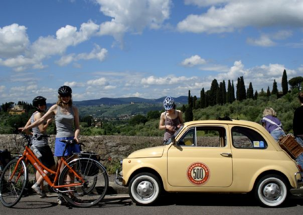 HFcyclingtuscany6.jpg - Italy - Classic Tuscany - Self-Guided Leisure Cycling Holiday - Leisure Cycling