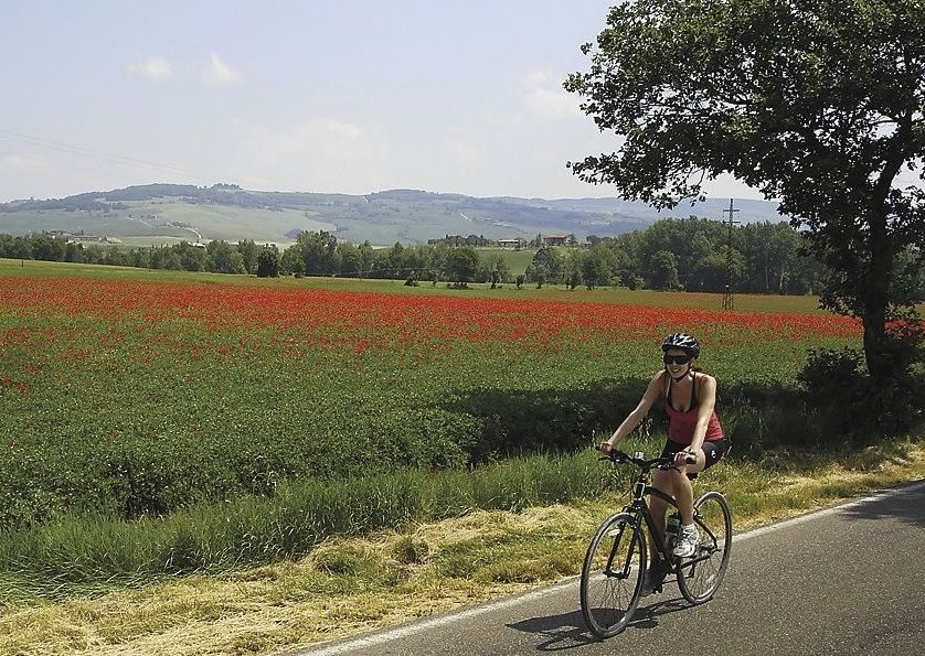 HFcyclingtuscany3.jpg - Italy - Classic Tuscany - Self-Guided Leisure Cycling Holiday - Leisure Cycling