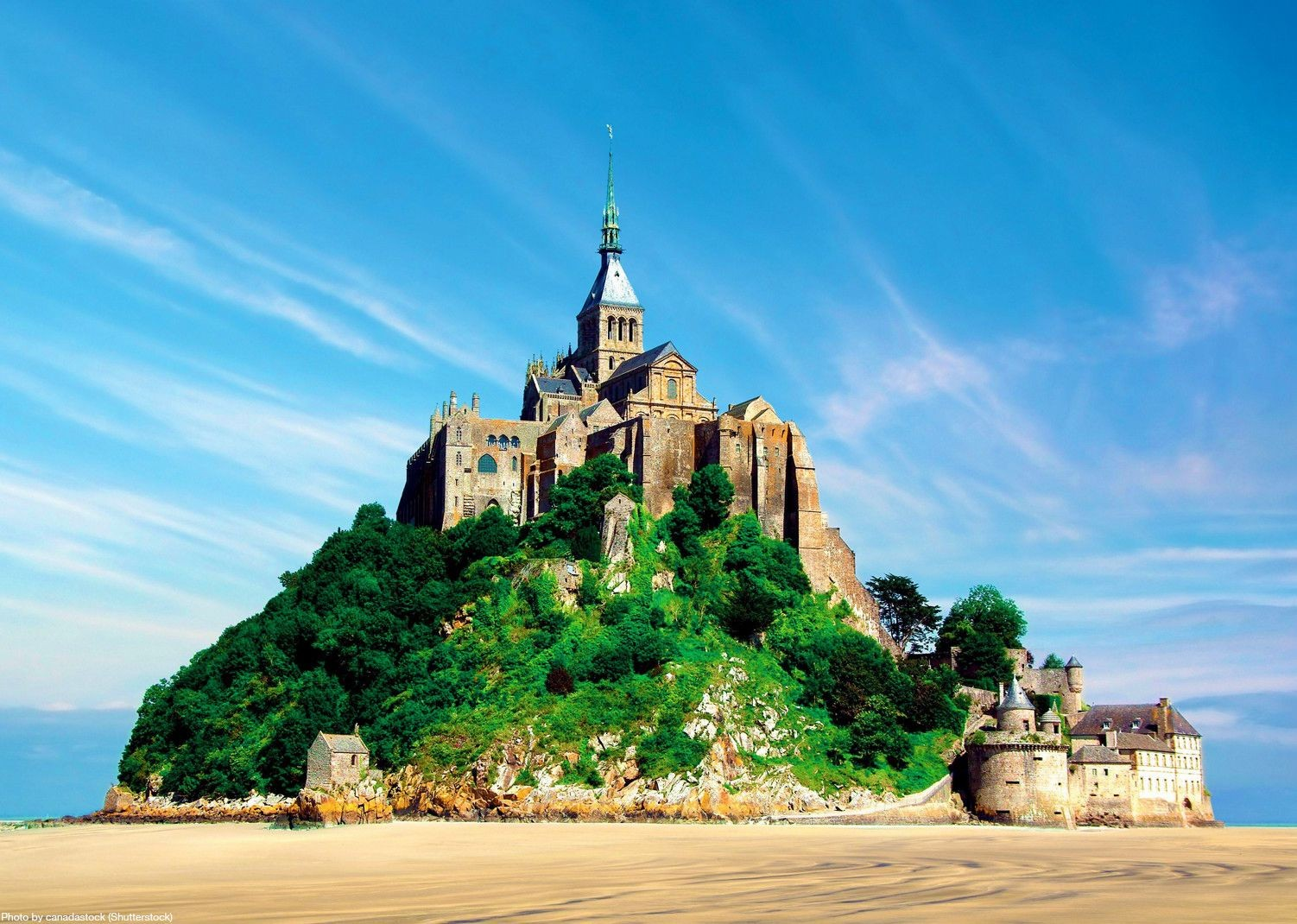le-mont-st-michel-castle-france-self-guided-cycling-tour.jpg - France - Brittany - Self-Guided Leisure Cycling Holiday - Leisure Cycling