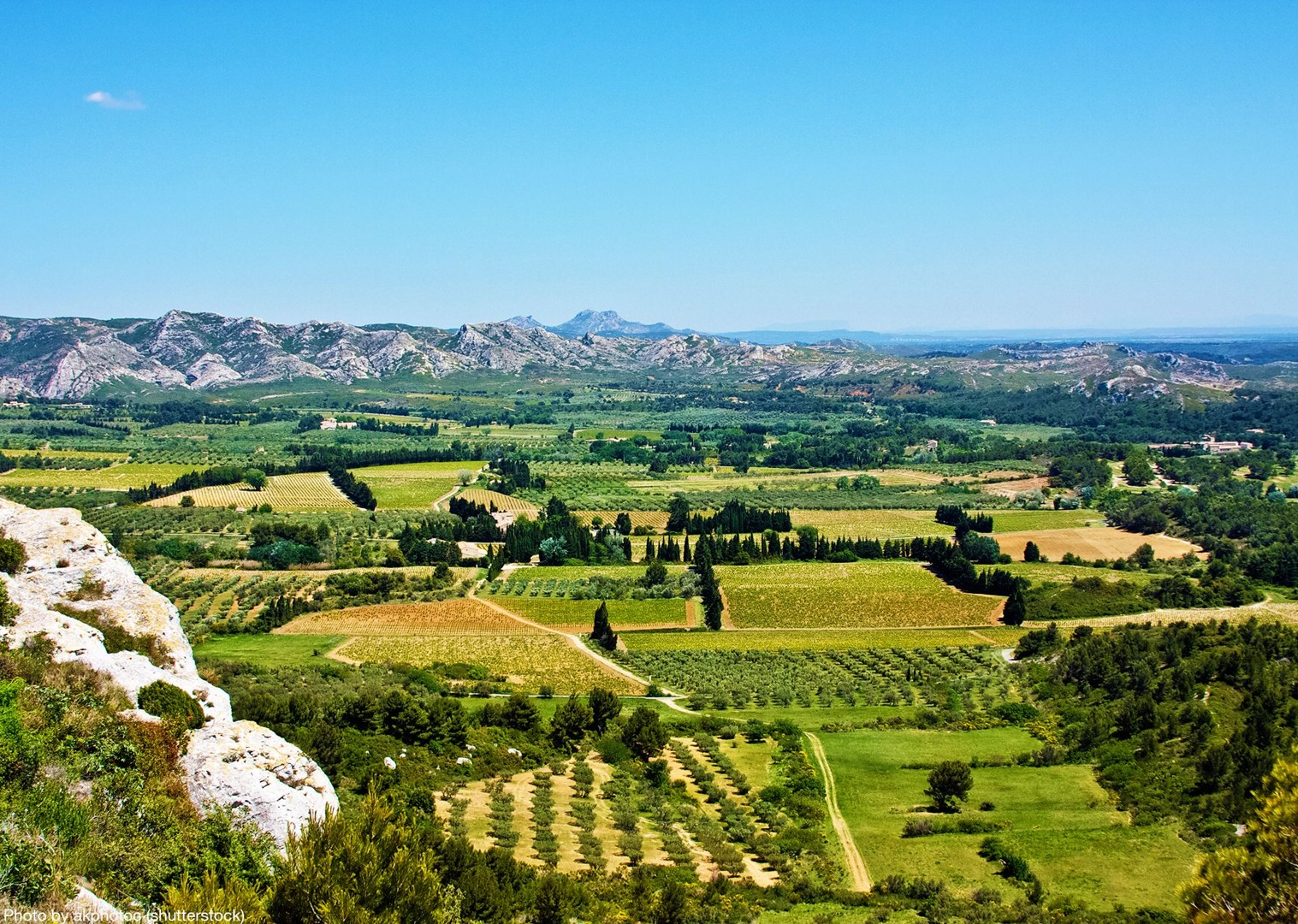 château-des-baux-de-provence-self-guided-leisure-cycling-holiday.jpg - France - Provence - Self-Guided Leisure Cycling Holiday - Leisure Cycling