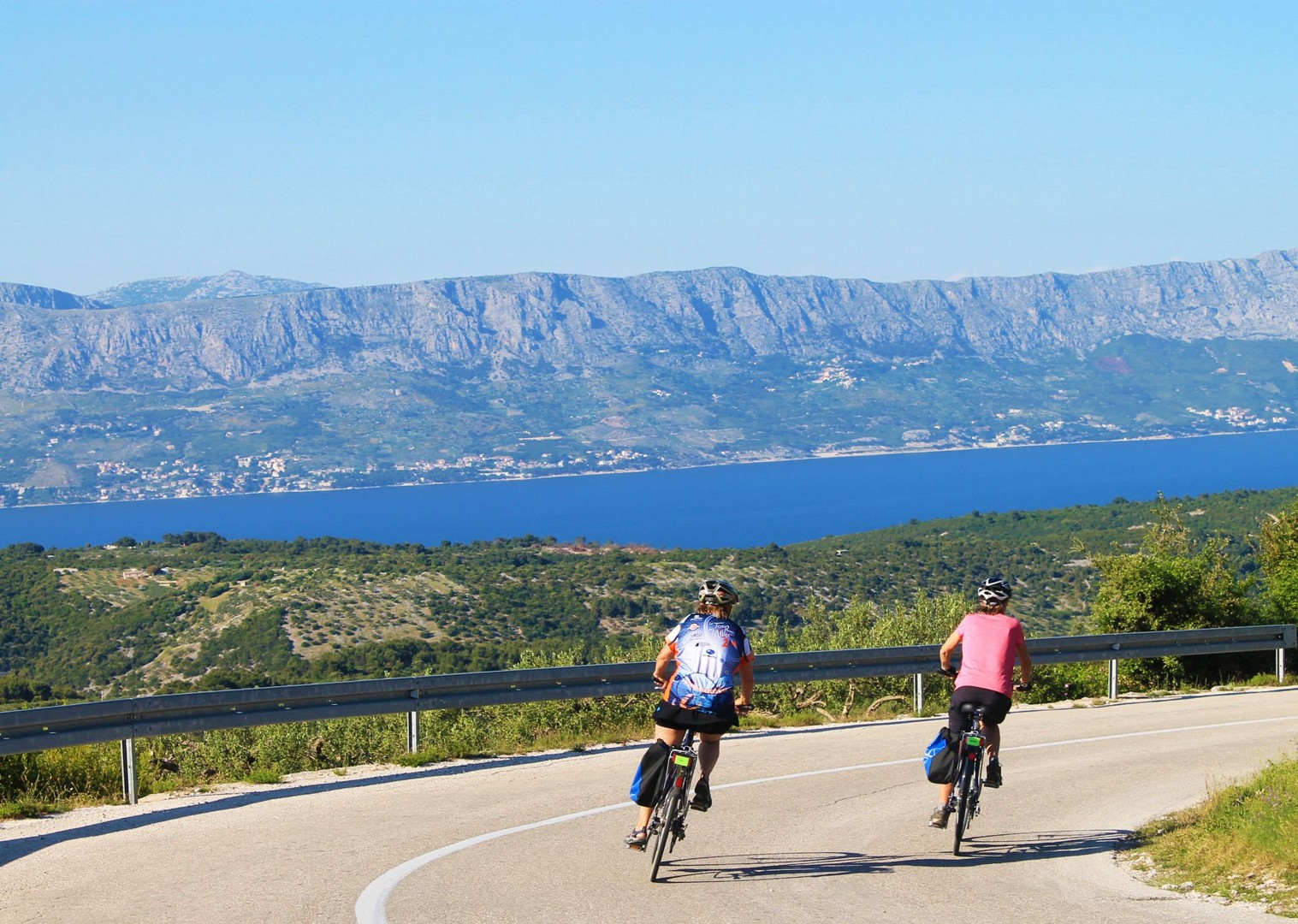 admire-adriatic-waters-boat-and-bike-holiday.jpg - Croatia - Dalmatian National Parks and Islands - Bike and Boat Holiday - Leisure Cycling