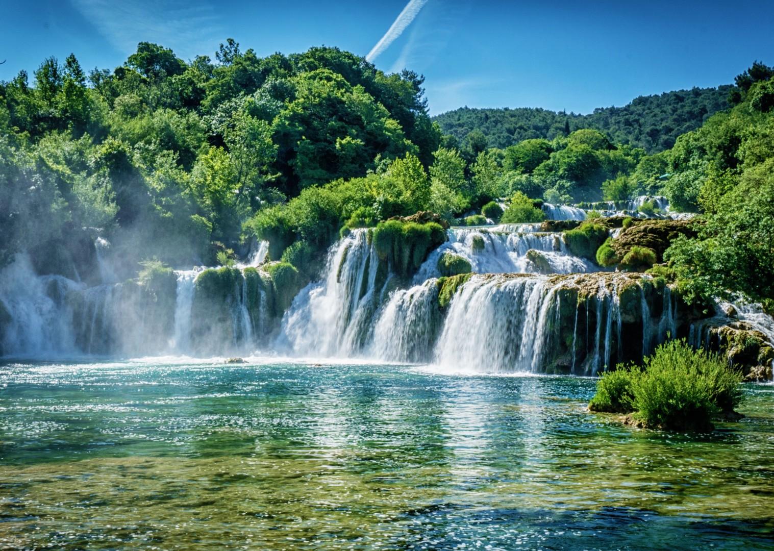 waterfalls-croatia-national-park-cycling-holiday.jpg - Croatia - Dalmatian National Parks and Islands - Bike and Boat Holiday - Leisure Cycling