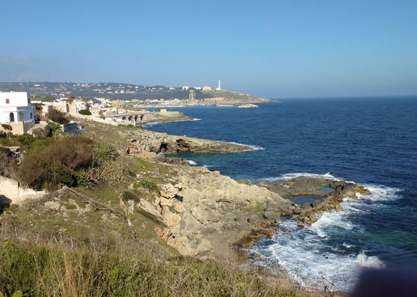 cycling-holiday-puglia-landscape-coast.jpg - Italy - Puglia - Guided Leisure Cycling Holiday - Leisure Cycling