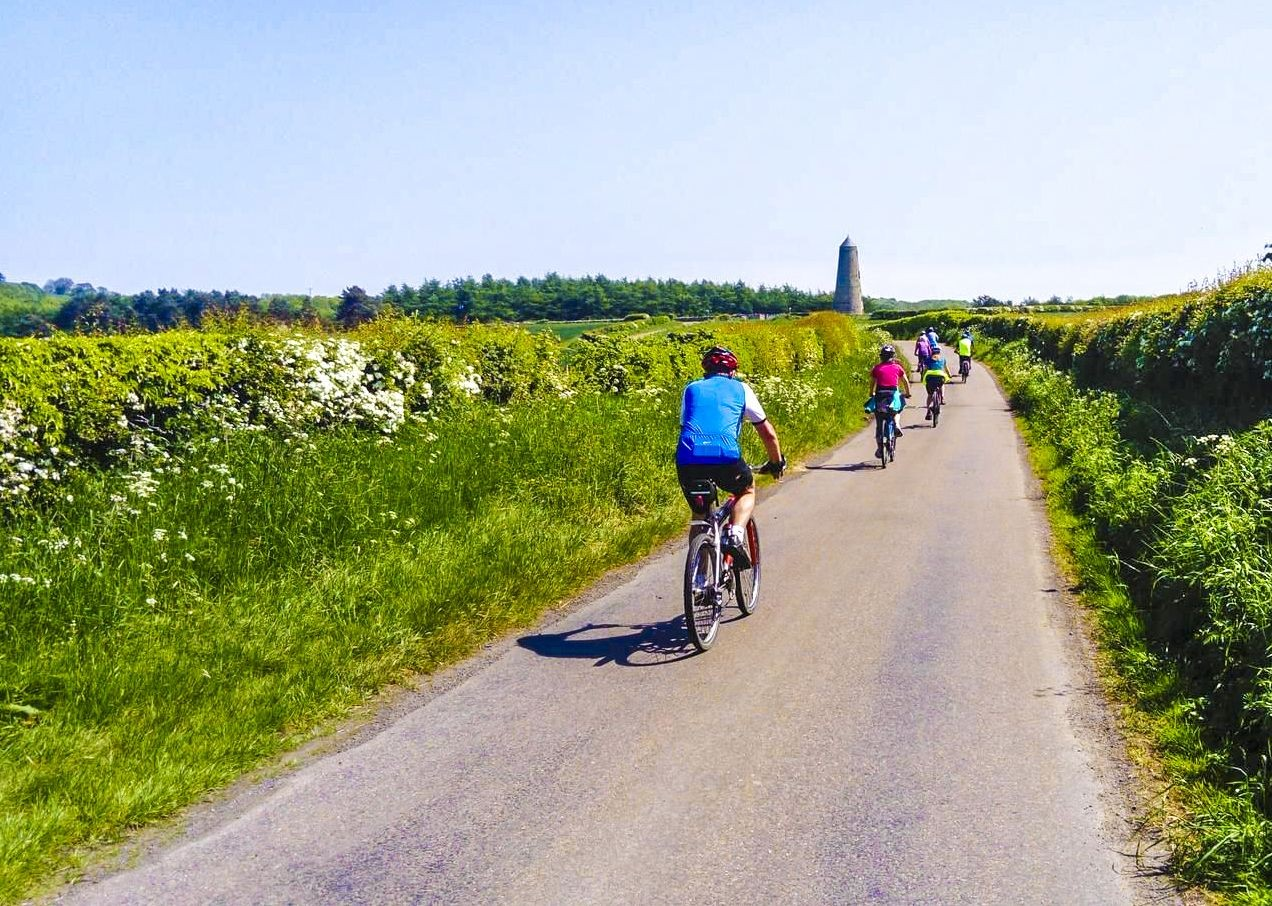 group-tour-guided-holiday-cycling-countryside-alnmouth-coast.jpg - UK - Northumberland - Alnmouth - Guided Leisure Cycling Holiday - Leisure Cycling