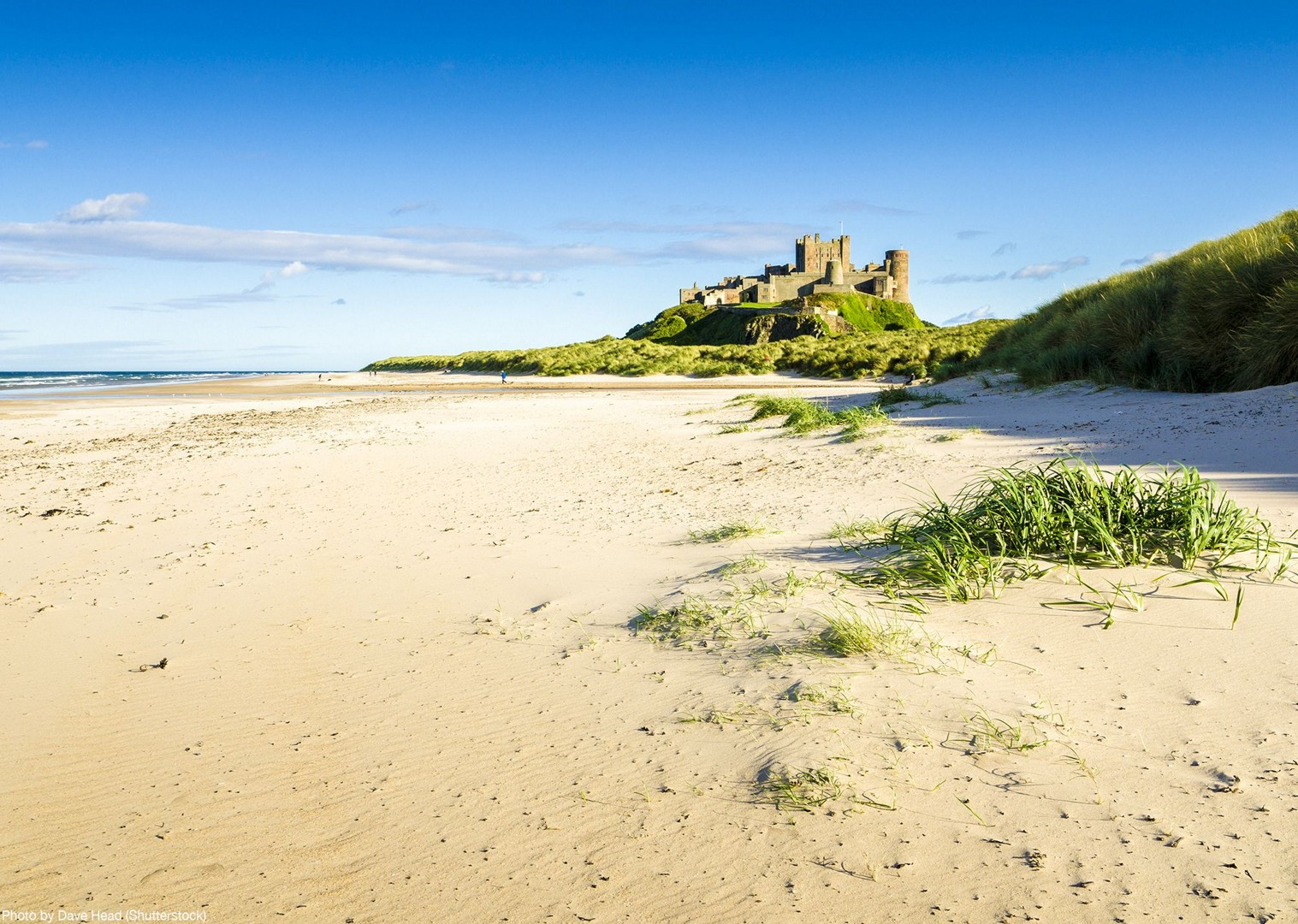 coast-beach-bike-tour-uk-self-guided-saddle-skedaddle-warkworth-castle.jpg - UK - Northumberland - Alnmouth - Self-Guided Leisure Cycling Holiday - Leisure Cycling