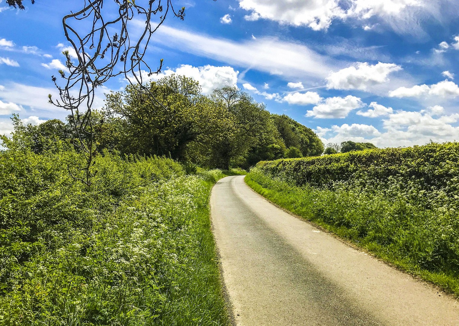 quiet-country-lanes-cycling-picturesque-rolling-countryside-guided.jpg - UK - Cotswolds - Bourton-on-the-Water - Guided Leisure Cycling Holiday - Leisure Cycling