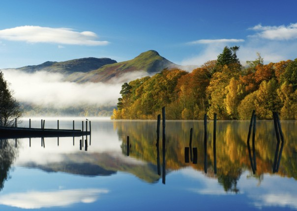 UK - Lake District - Derwent Water - Guided Leisure Cycling Holiday Image